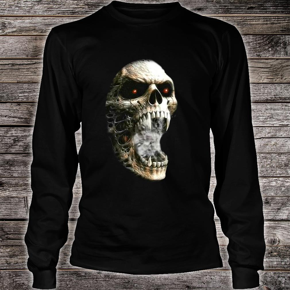 Unzipped Skeleton with Transformation Shirt long sleeved