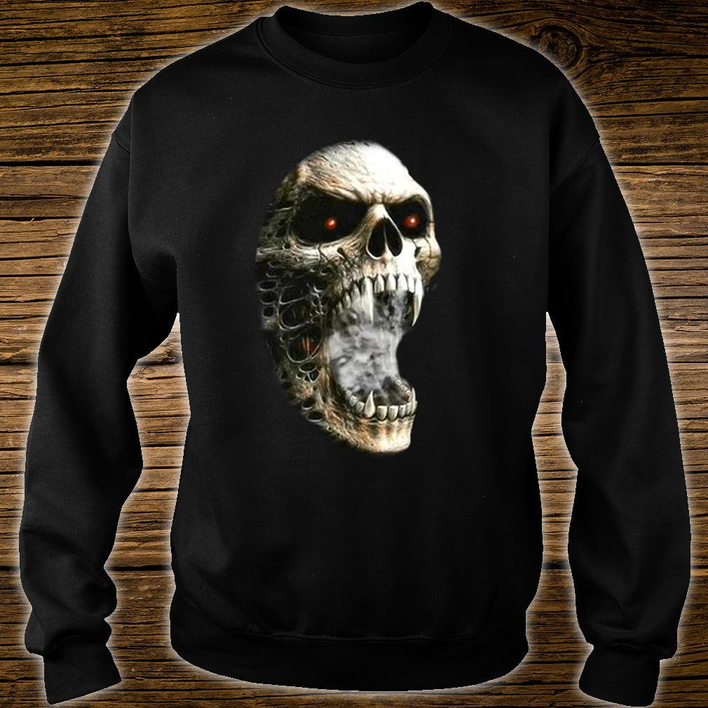 Unzipped Skeleton with Transformation Shirt sweater