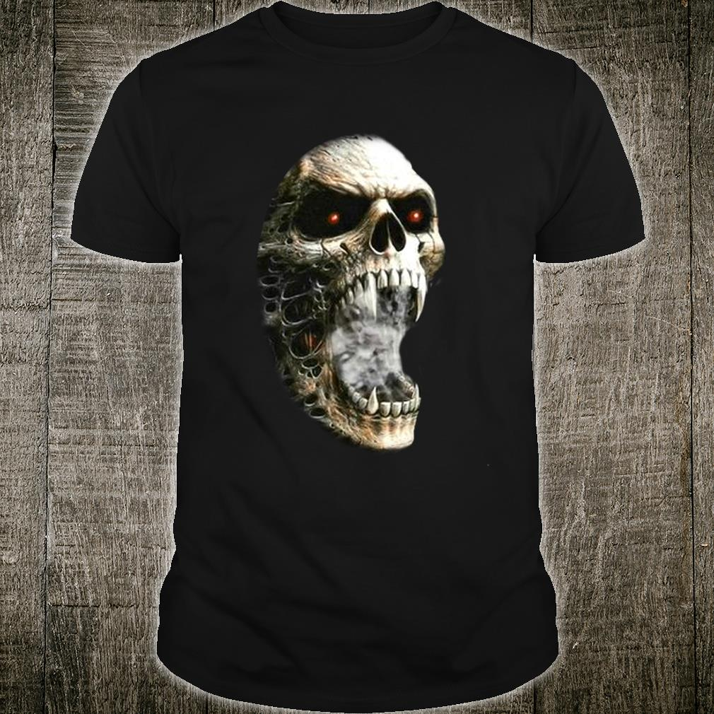 Unzipped Skeleton with Transformation Shirt