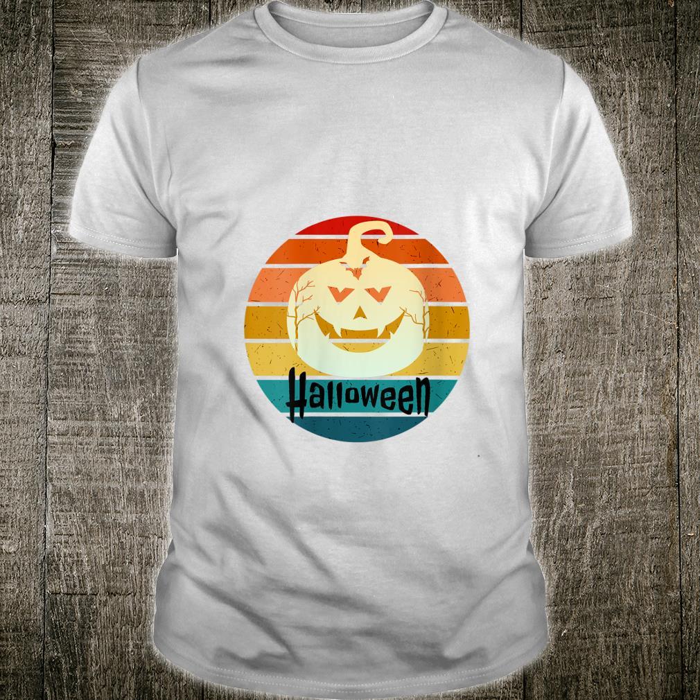 VINTAGE HALLOWEEN PUMPKING SMILE DEVIL COSTUME NAUGHTY Shirt