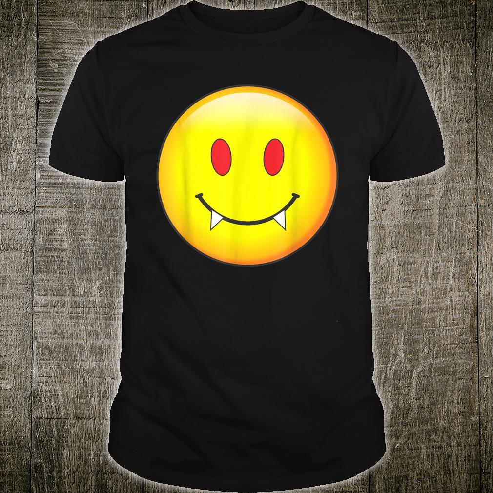Vampire Emoji Vampire Halloween Costume Shirt