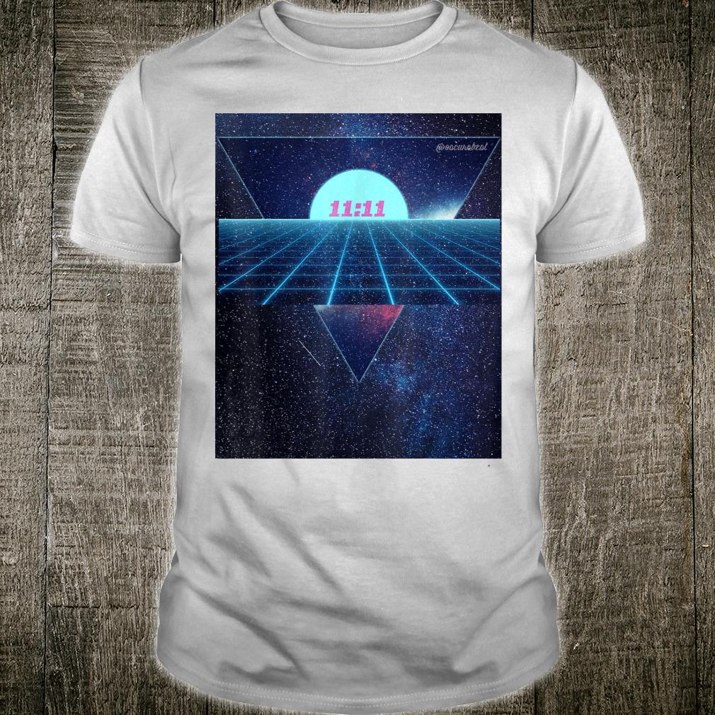 Vaporwave 1111 Into The Abyss Space EDM PLUR Vibe Dreams Shirt