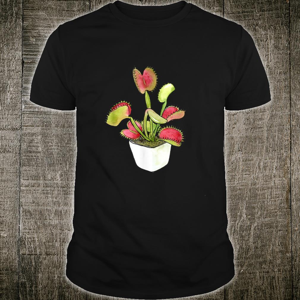 Venus Flytrap Meat Eating Plants Meateater Carnivore Shirt