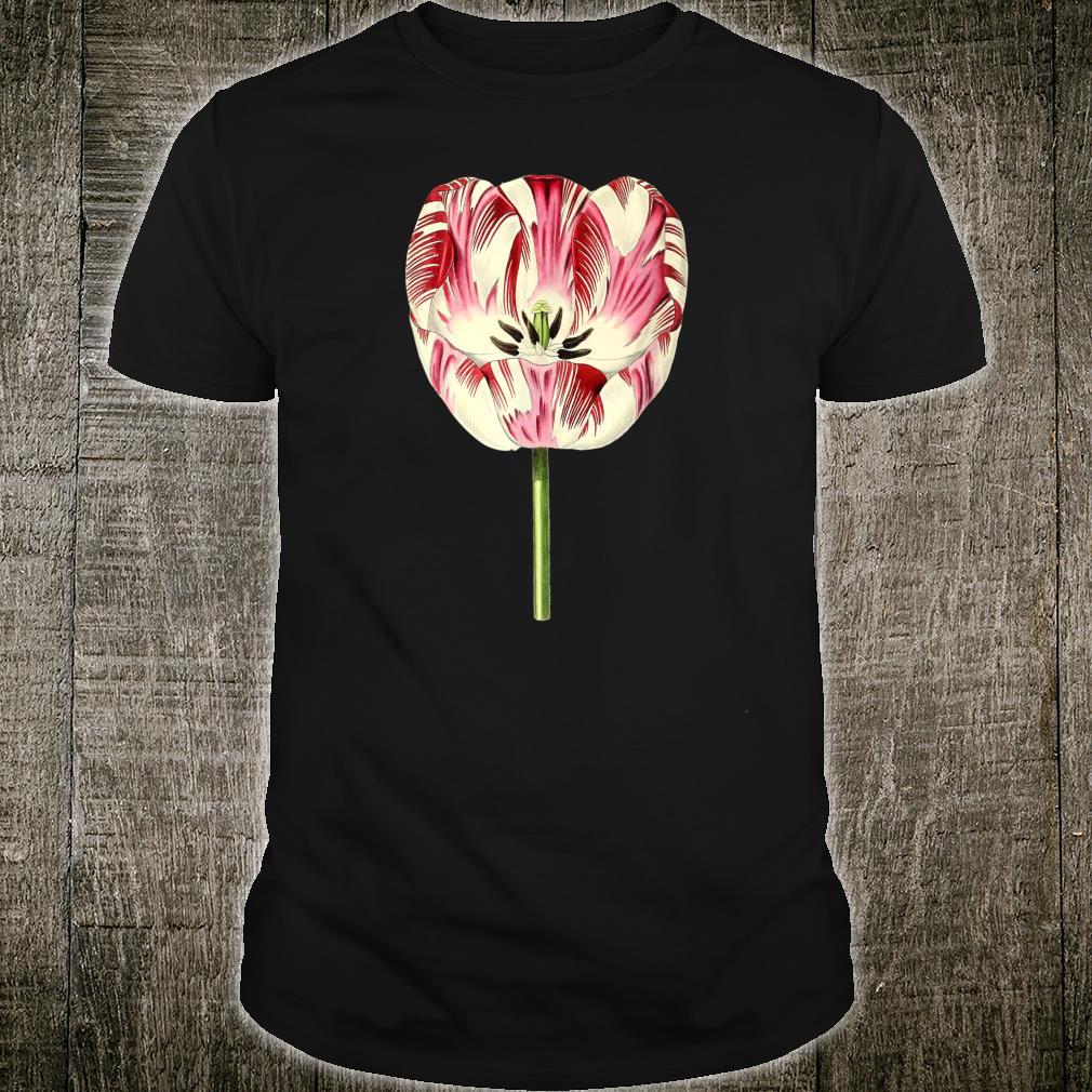 Vintage Aesthetic Botanical Floral Flowers Shirt
