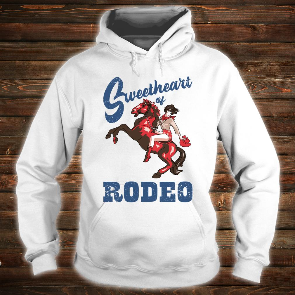 Vintage Cowgirl Liebling der RodeoDamen Cowgirl Shirt hoodie