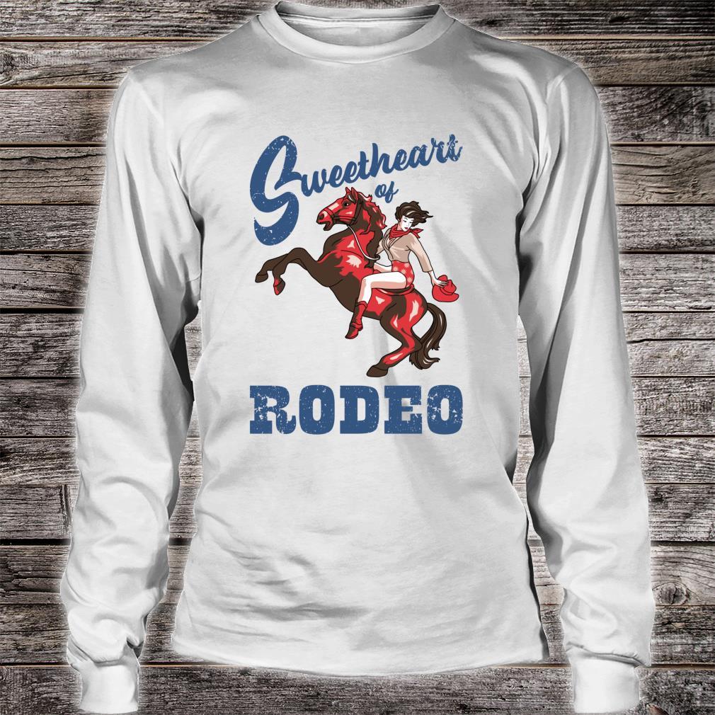 Vintage Cowgirl Liebling der RodeoDamen Cowgirl Shirt long sleeved
