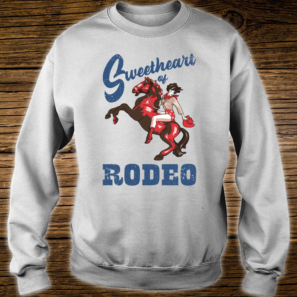 Vintage Cowgirl Liebling der RodeoDamen Cowgirl Shirt sweater