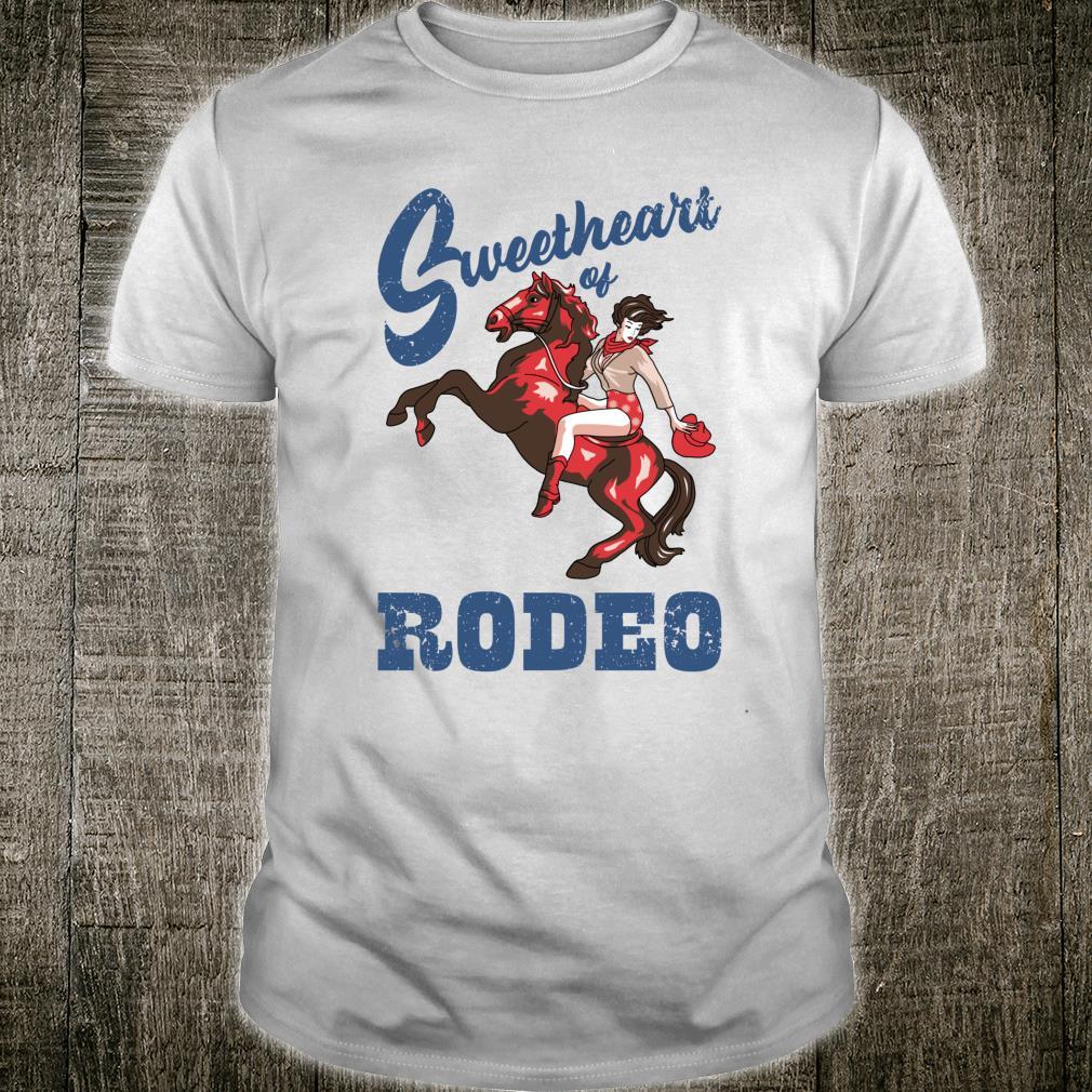 Vintage Cowgirl Liebling der RodeoDamen Cowgirl Shirt