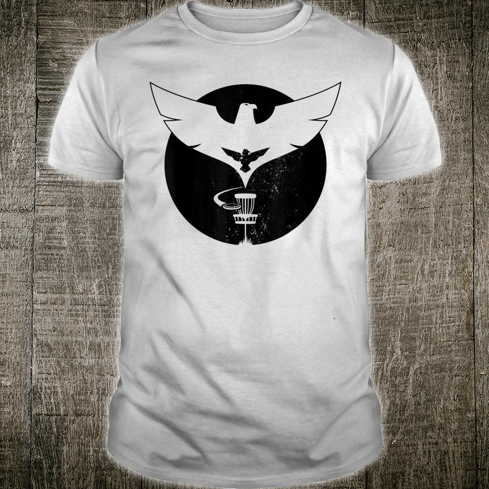 Vintage Disc Golf Sports Eagle Birdie Shirt