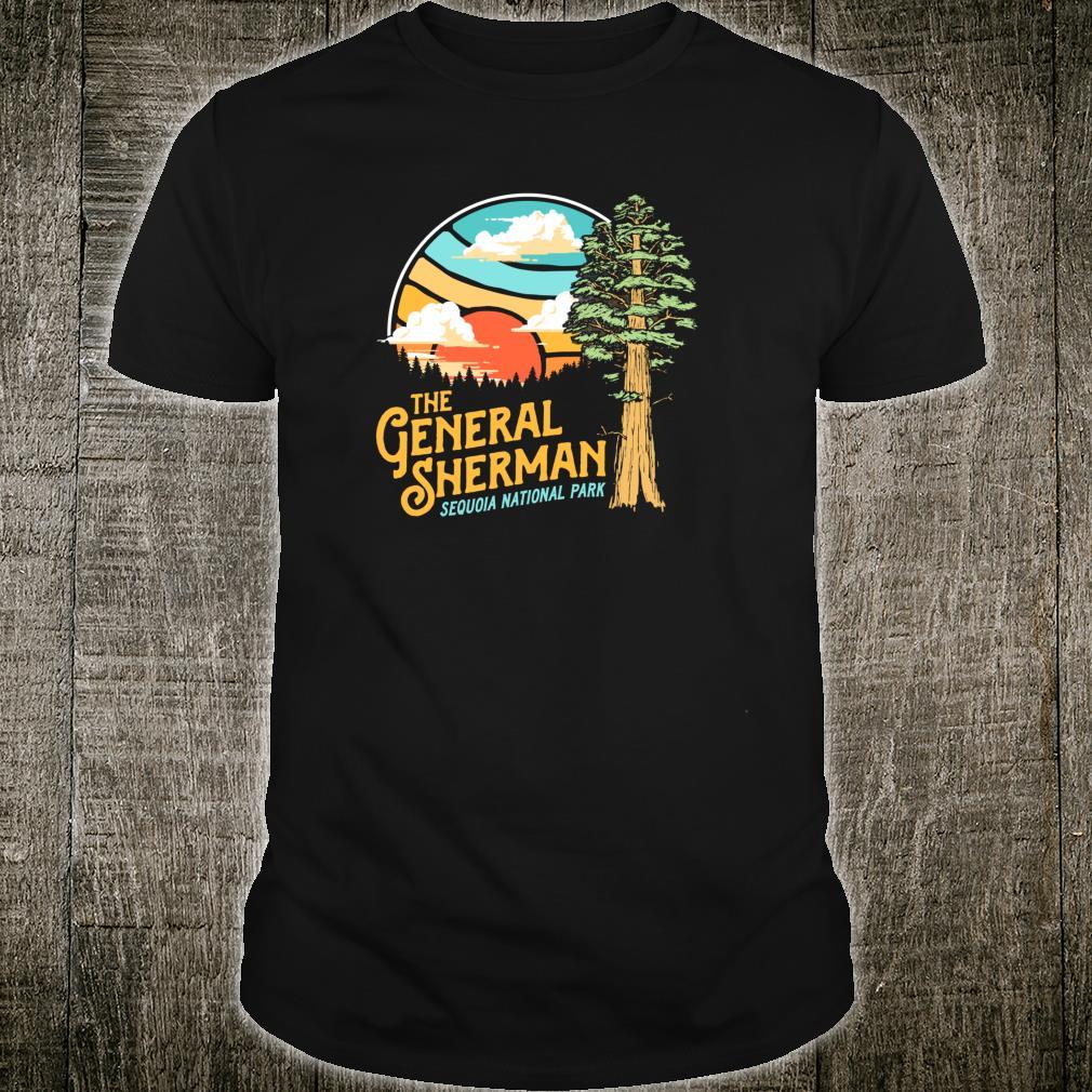 Vintage General Sherman Sequoia National Park Retro Shirt