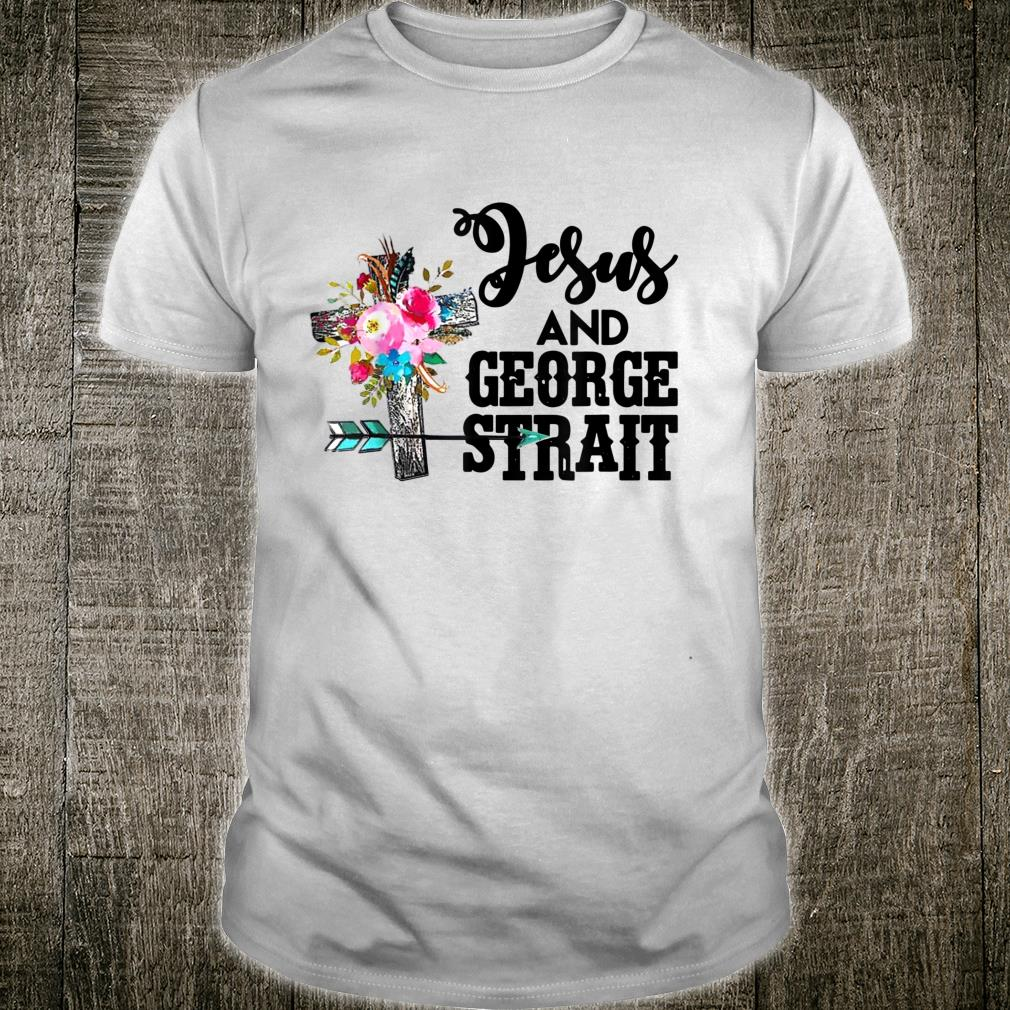 Vintage Jesus And George Arts Strait Country Music For Fans Shirt
