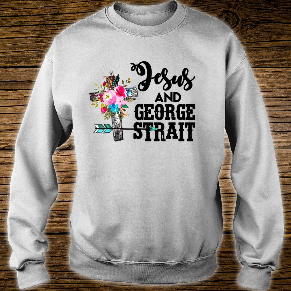 Vintage Jesus And George Arts Strait Country Music For Fans Shirt sweater