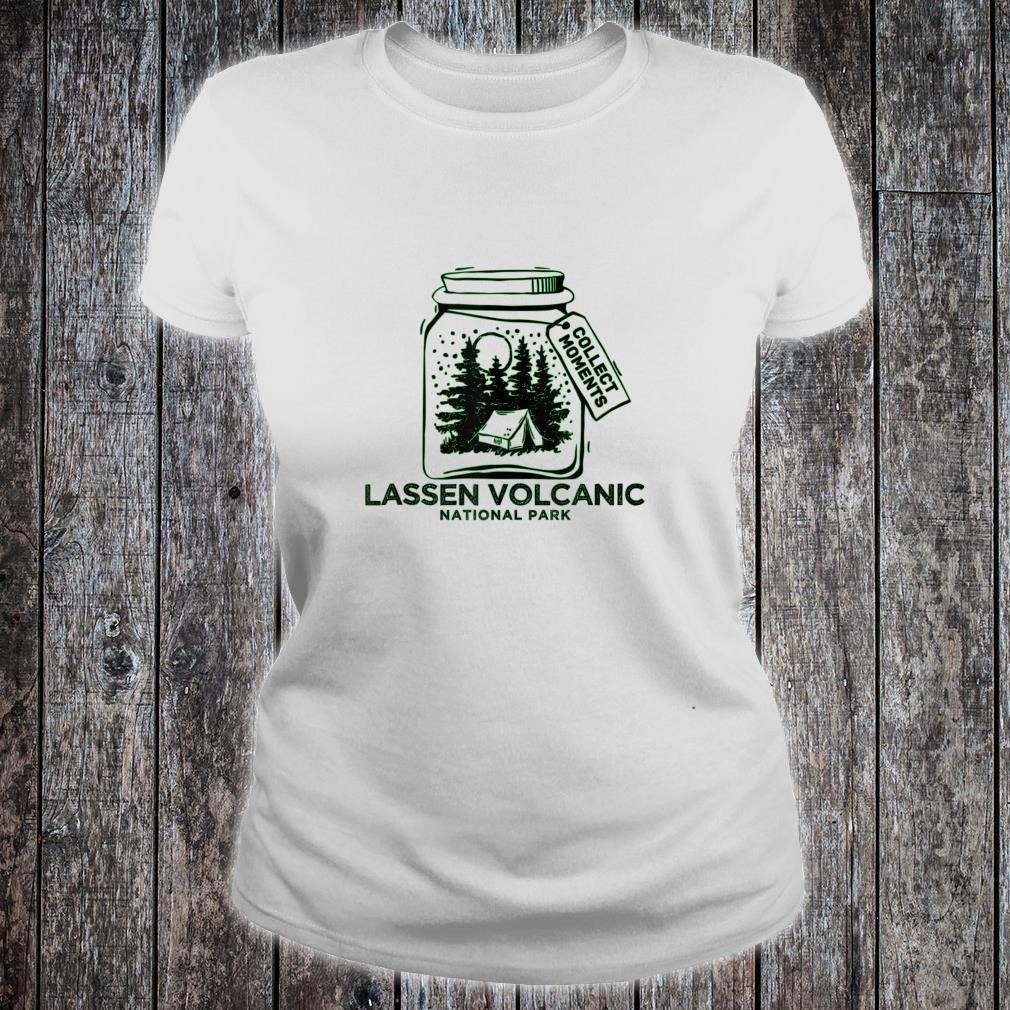 Vintage Lassen Volcanic National Park Souvenir Shirt ladies tee
