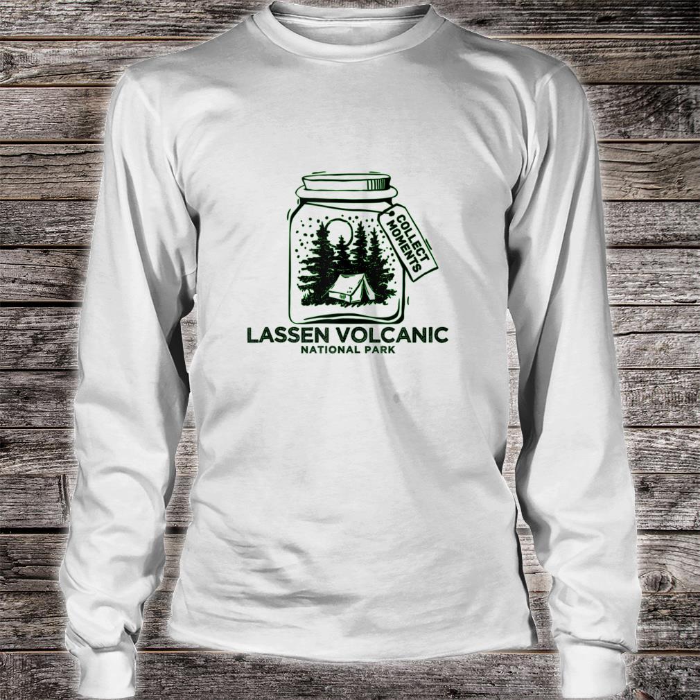 Vintage Lassen Volcanic National Park Souvenir Shirt long sleeved