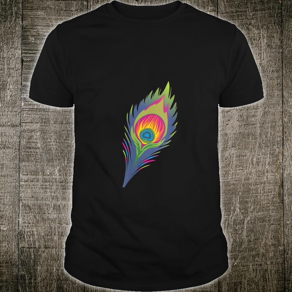 Vintage Peacock Feather Peacock Animal Shirt