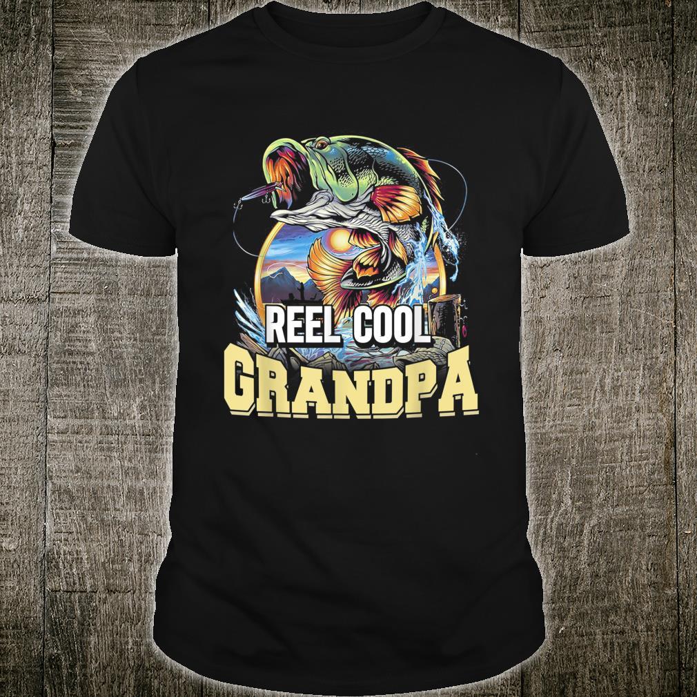 Vintage Reel Cool Grandpa Fishing Shirt