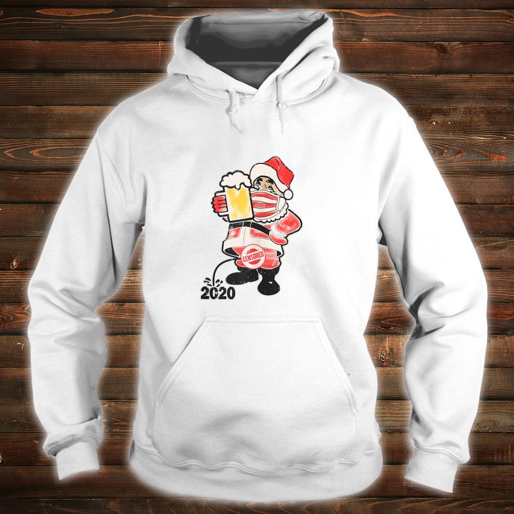 Vintage Santa 2020 Shirt hoodie