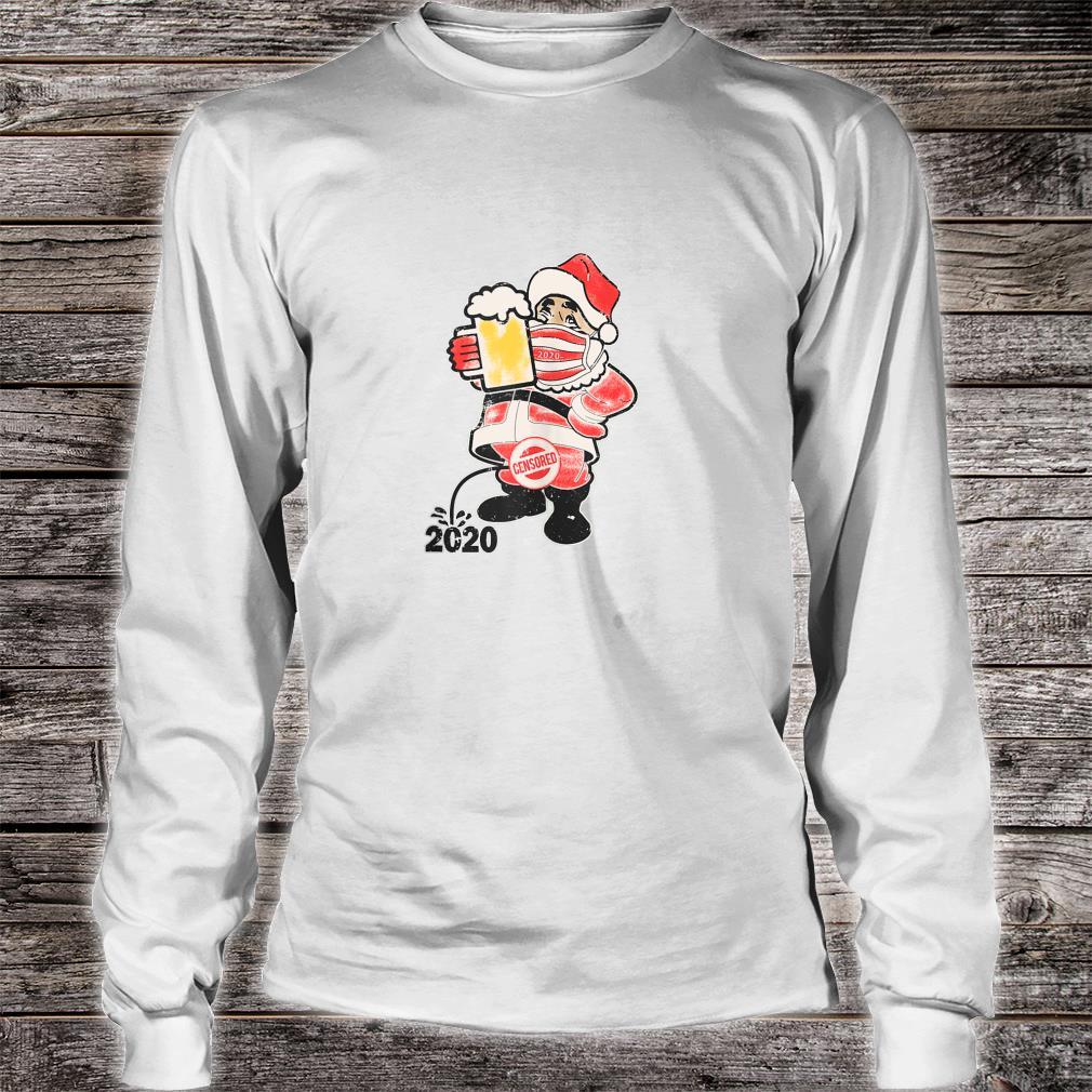 Vintage Santa 2020 Shirt long sleeved