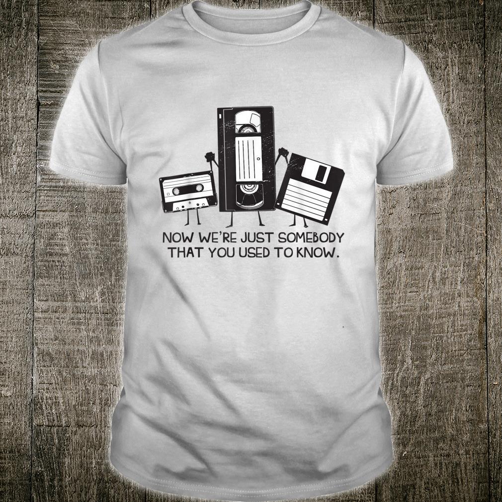 Vintage Tech Humor Cassette Saying Tech Humor Shirt