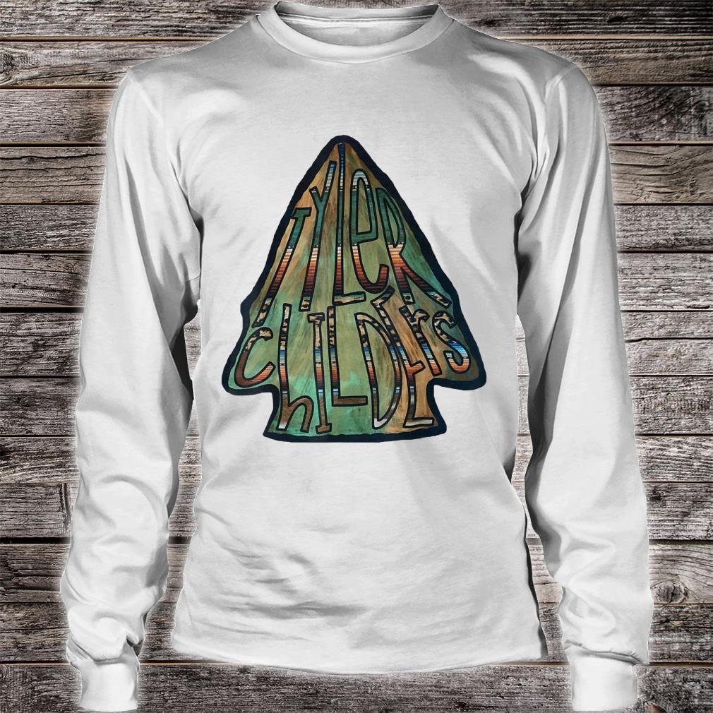 Vintage Tyler Childers Love Bluegrass Musical Playing Guitar Shirt long sleeved
