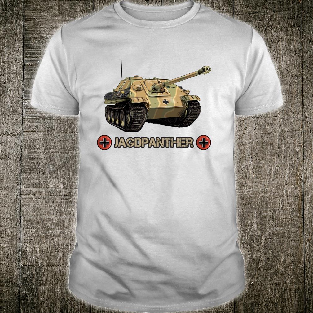 Vintage World War 2 German Anti tank Jagdpanther Sd.Kfz. 173 Shirt