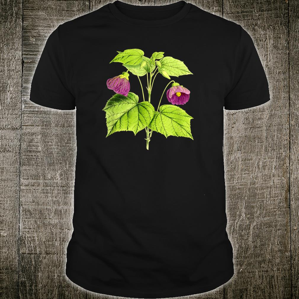 Vintage botanical Floral Flowers Retro Shirt
