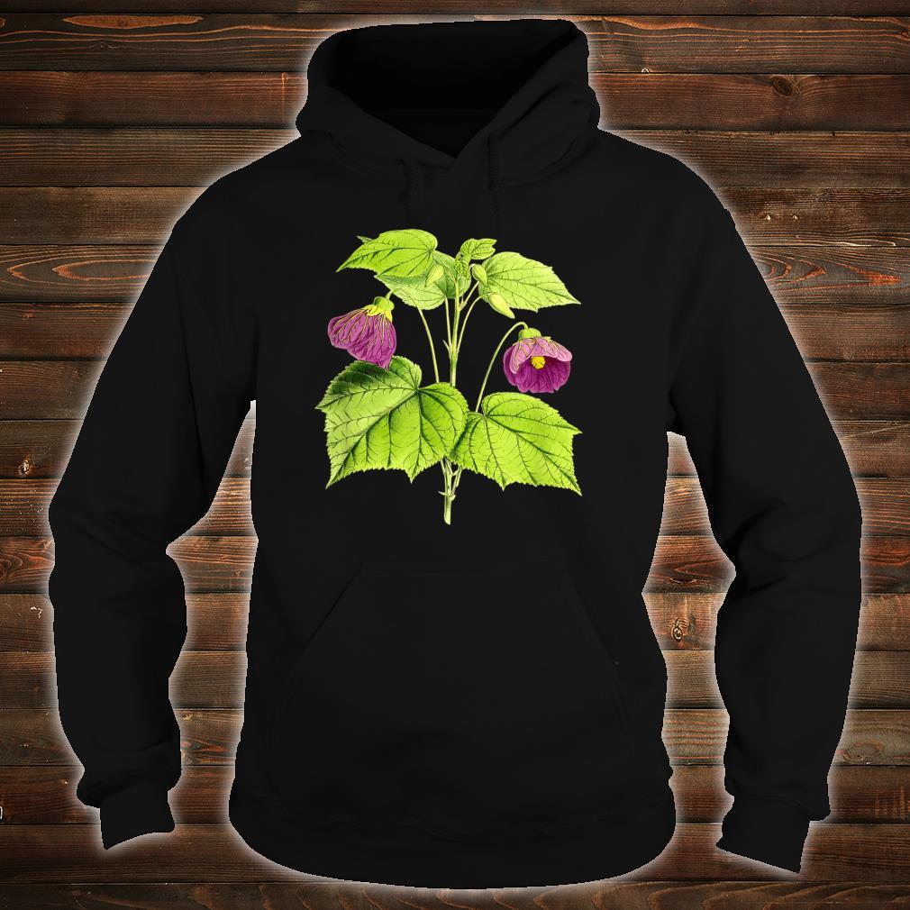Vintage botanical Floral Flowers Retro Shirt hoodie