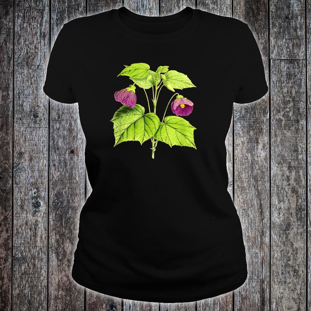 Vintage botanical Floral Flowers Retro Shirt ladies tee