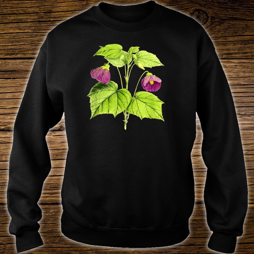 Vintage botanical Floral Flowers Retro Shirt sweater