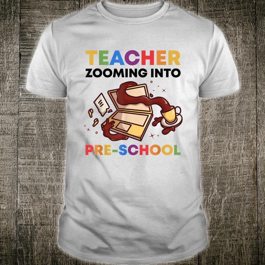 Virtuell Lehrer Zoomt In Die Vorschule 2020 Fernunterricht Shirt