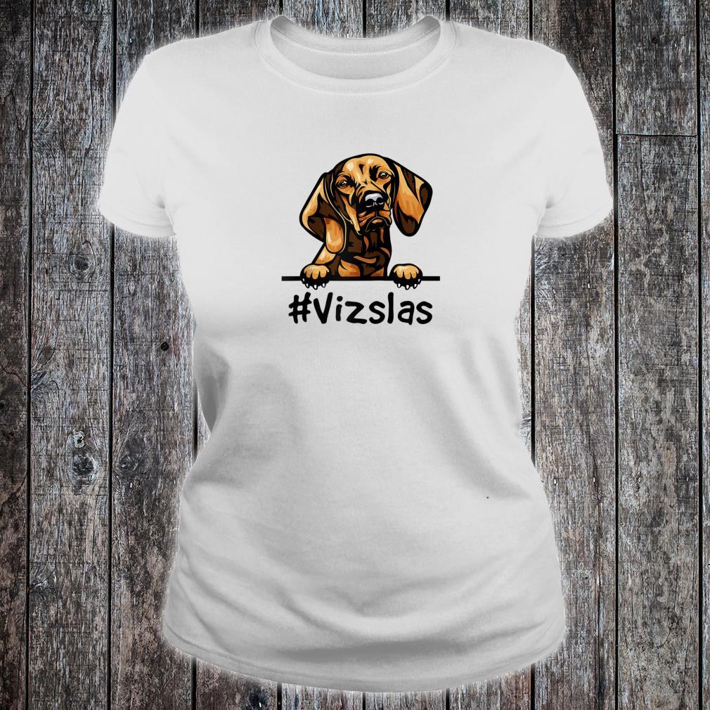 Vizsla Decor Print Dog Shirt ladies tee