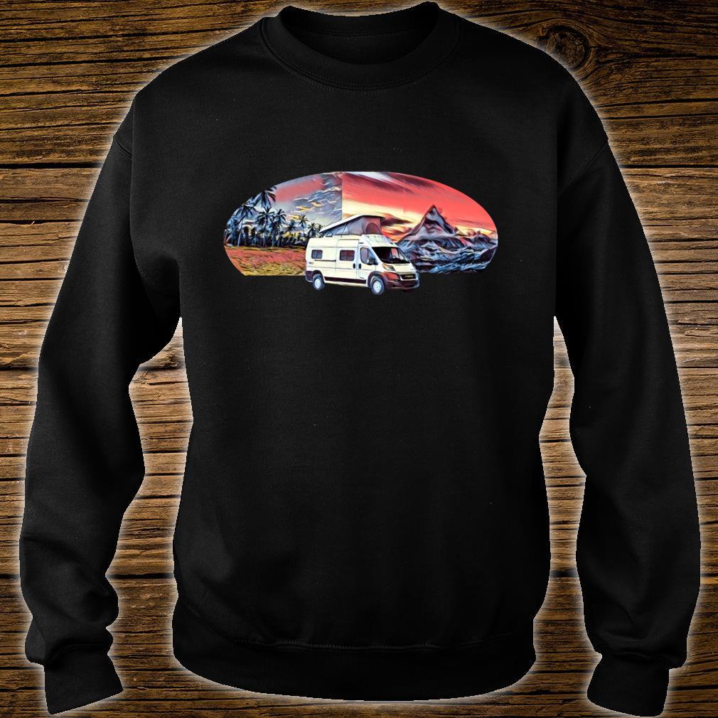 Vom Meer zum Berg PopTop Wohnmobil Shirt sweater