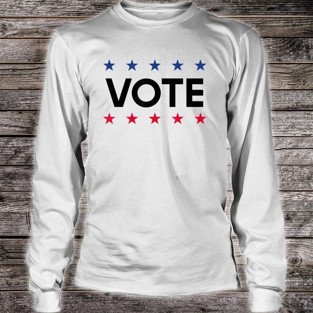Vote Political November 2021 Election Shirt long sleeved
