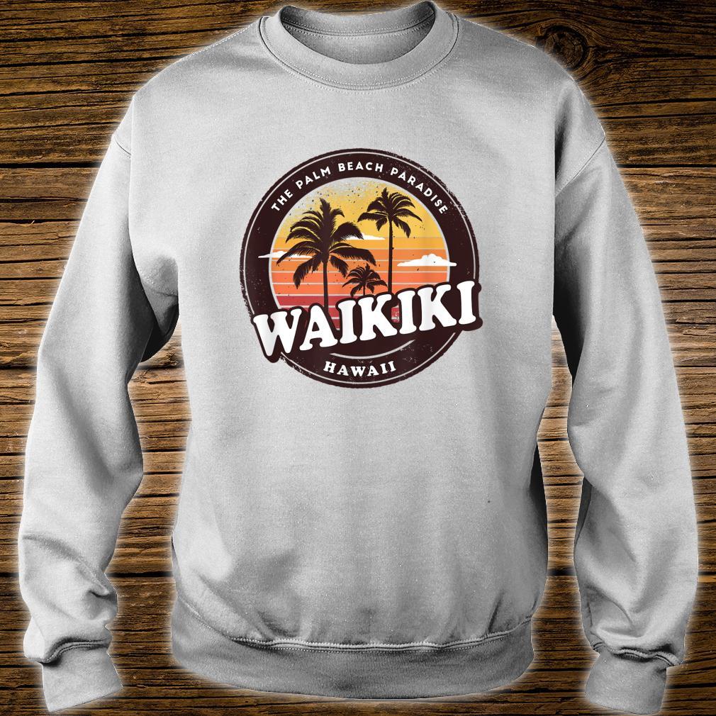 Waikiki Hawaii Vintage Design Shirt sweater