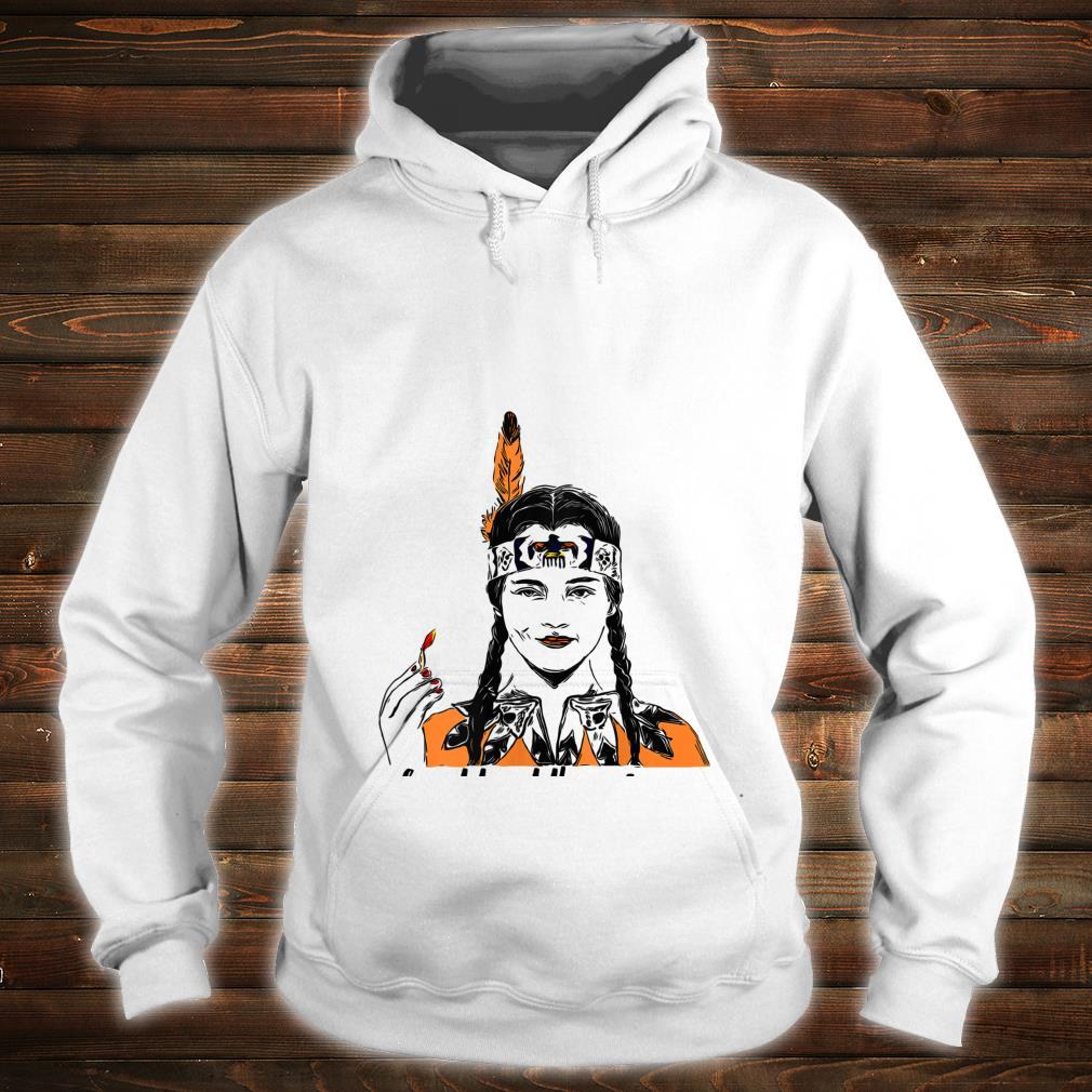 Wednesday Addams do not trust the pilgrims Native american Shirt hoodie