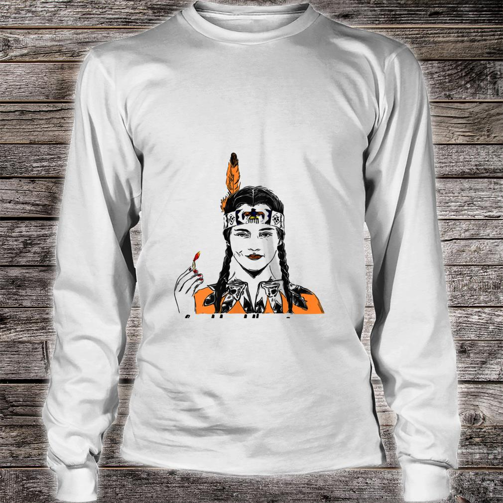 Wednesday Addams do not trust the pilgrims Native american Shirt long sleeved