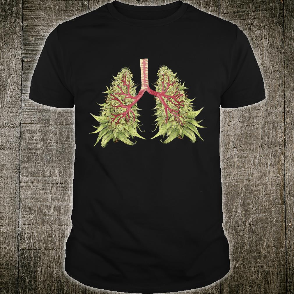 Weed Marijuana THC Weed Bud Stoner Shirt