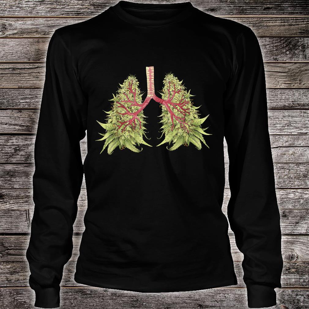 Weed Marijuana THC Weed Bud Stoner Shirt long sleeved