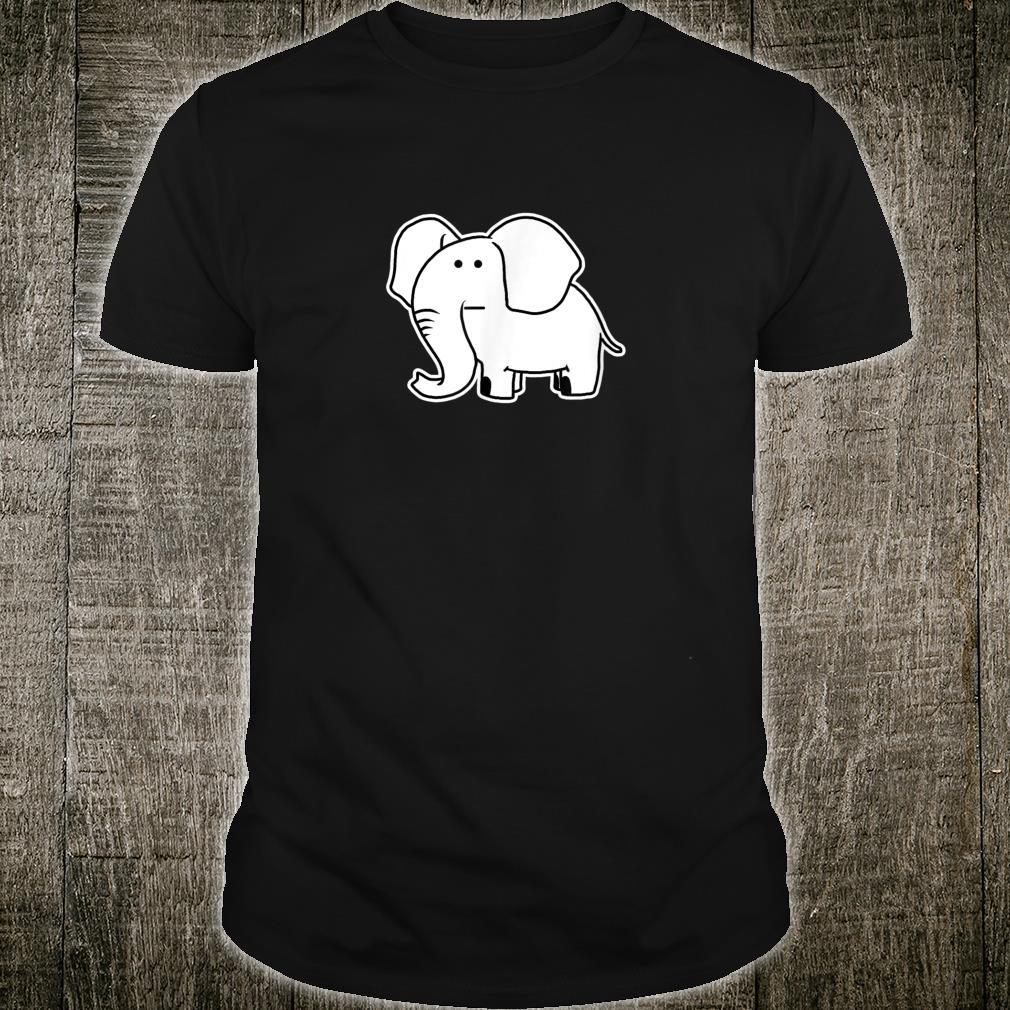 Weird Elephant Hippie Animal Shirt