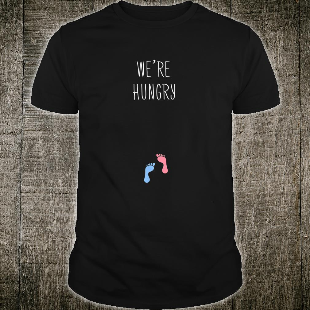We're Hungry Pregnancy Announcement Baby Love Shirt