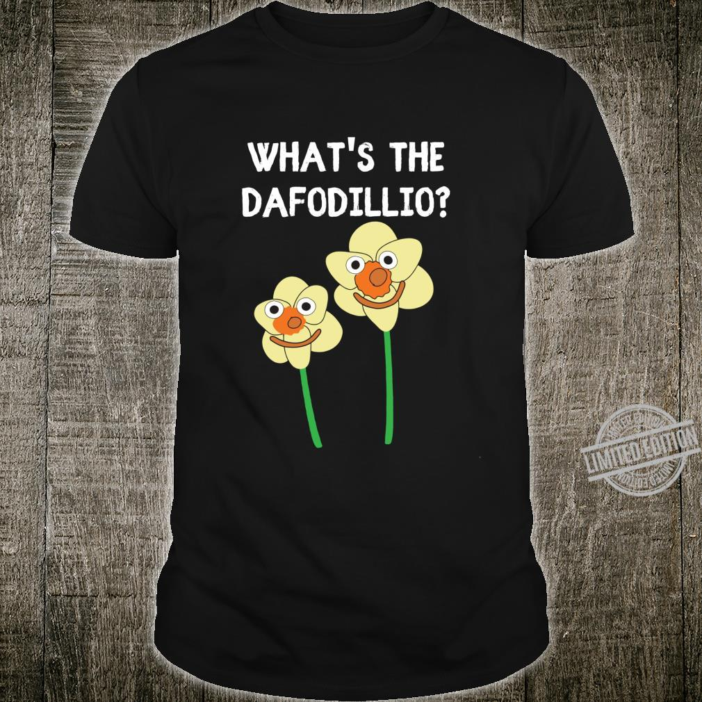 What's the Daffodillio Cute Cartoon Daffodils Shirt