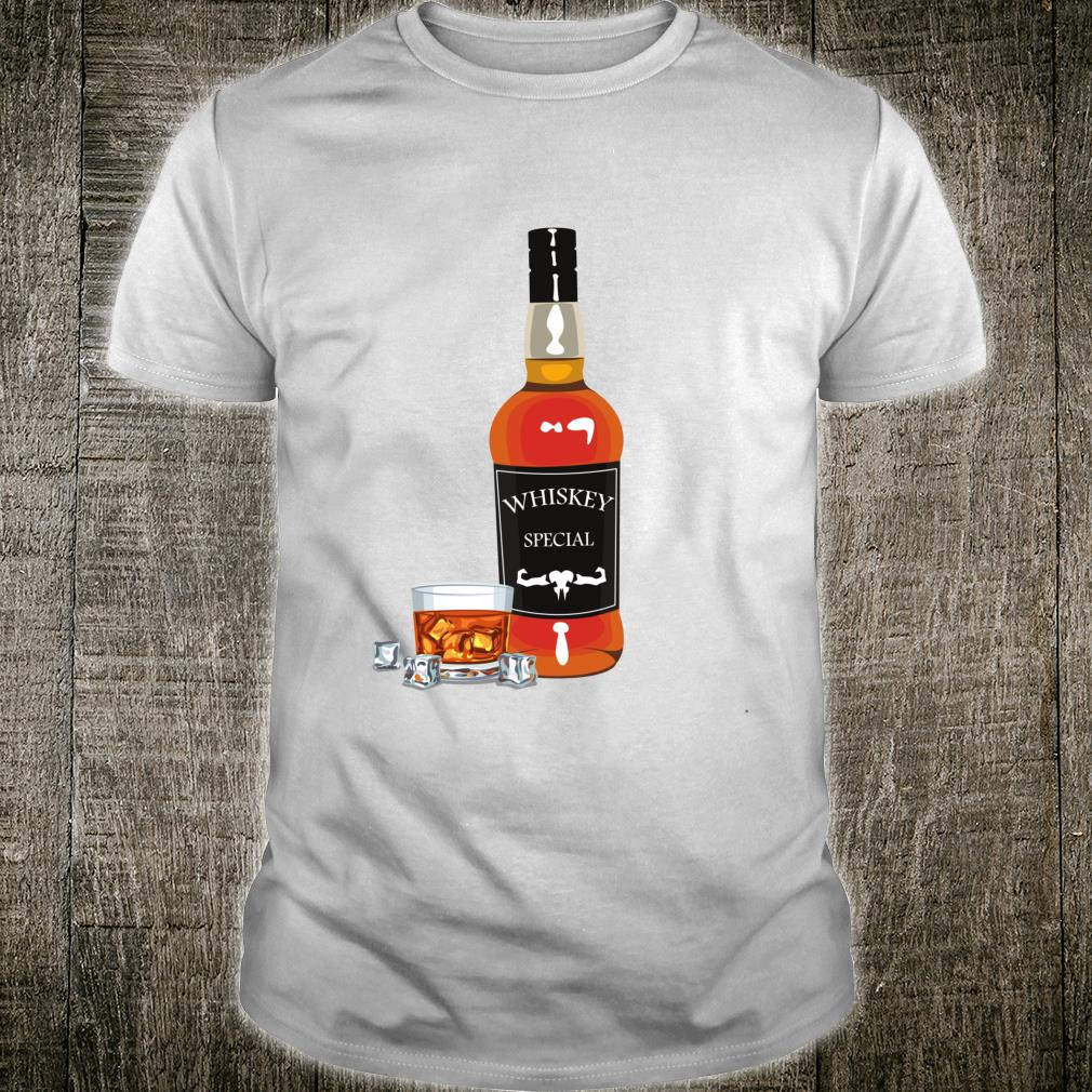 Whiskey Bottle Costume Halloween Shirt
