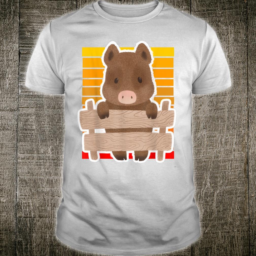 Wild Boar Vintage Sunset Wild Boar Sunset Shirt