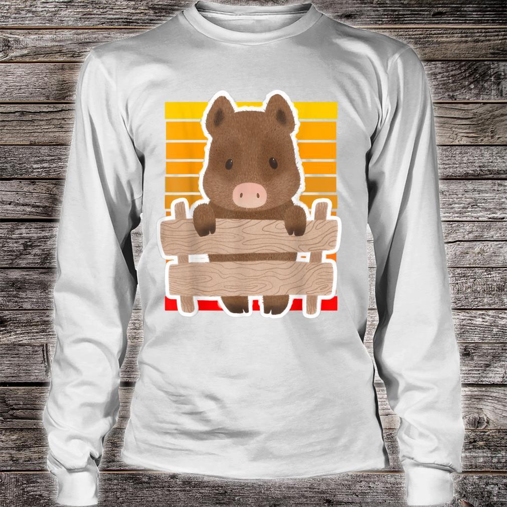 Wild Boar Vintage Sunset Wild Boar Sunset Shirt long sleeved