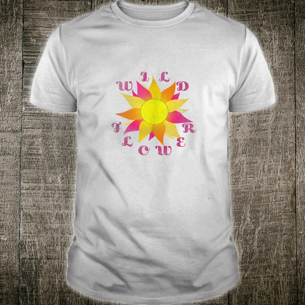 Wild Flower Boho Bohemian Desert Chic Vintage Shirt