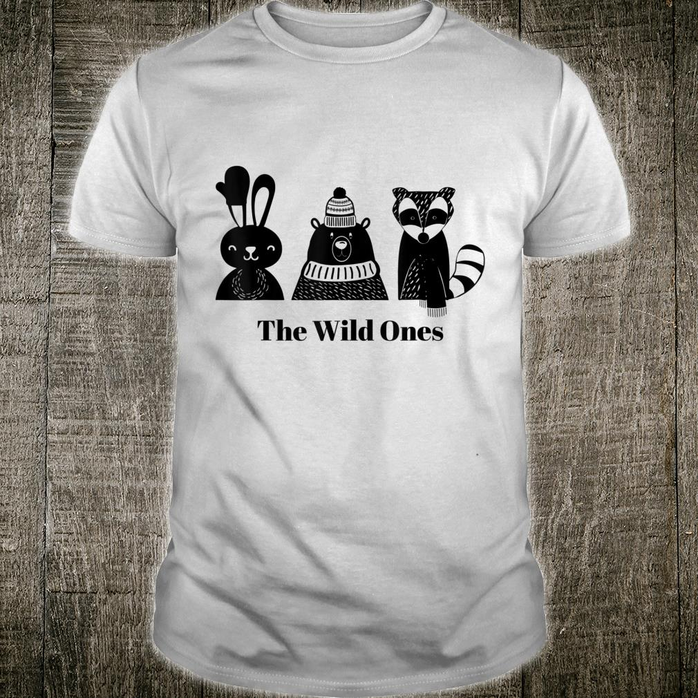 Wild Woodland Creatures Christmas Holiday Shirt