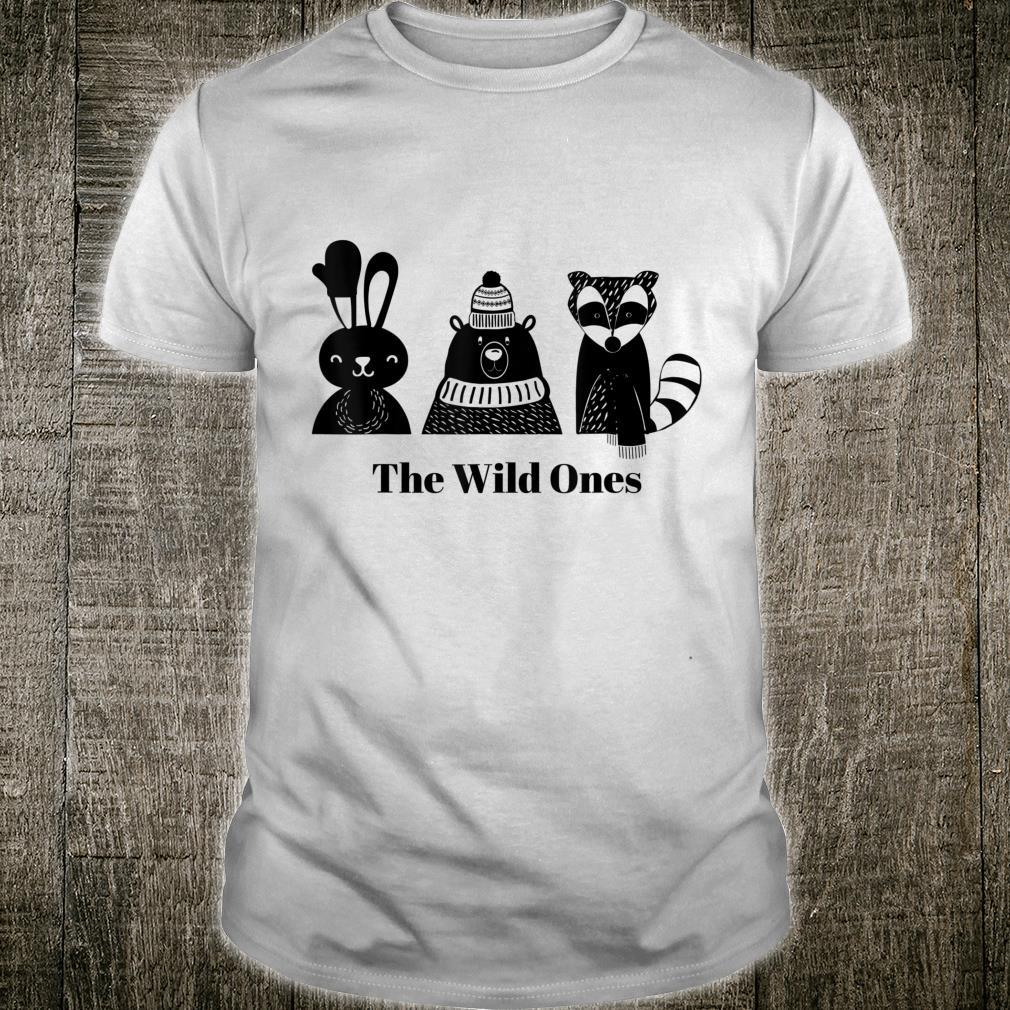 Wild Woodland Creatures Christmas Holiday Shirt