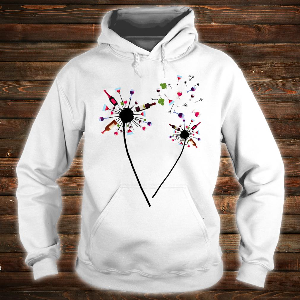 Wine Dandelion Drinking Wine Rosé For Wine Lovers Rosé Shirt hoodie