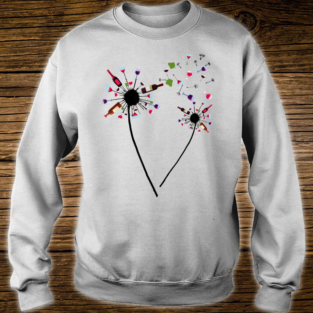 Wine Dandelion Drinking Wine Rosé For Wine Lovers Rosé Shirt sweater