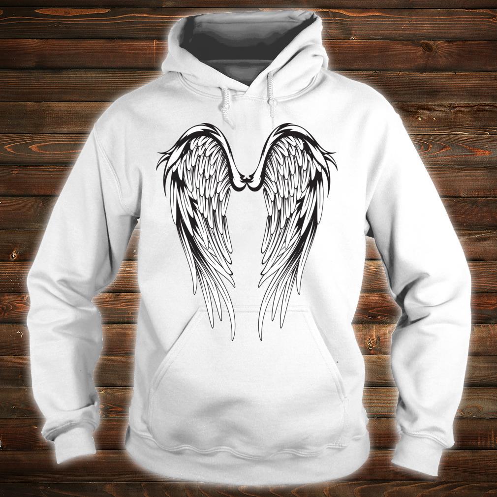 Wings #2 On The Back Side Angel Shirt hoodie